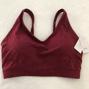 NWT Auden Seamless Bralette - Berry Red - 1X